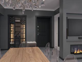 Квартира в стиле лофт Коридор, прихожая и лестница в стиле лофт от Maestro Лофт