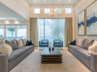 Classic style living room by ESTUDIO TANGUMA Classic