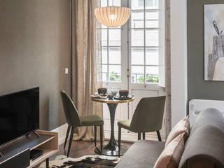 Scandinavian style living room by Staging Factory Scandinavian