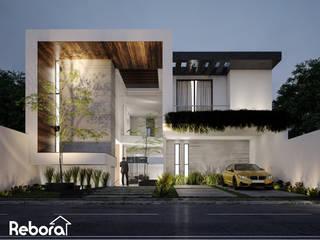 Obtén confort con un excelente diseño, único e innovador. Casas modernas de Rebora Arquitectos Moderno