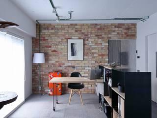 studio m+ by masato fujii Estudios y despachos de estilo escandinavo