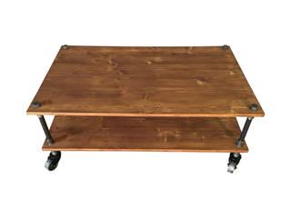 Table basse, fabrication sur mesure par La Fabrik de Fred Industriel