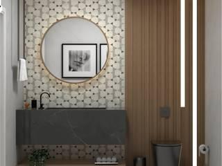 Banhos e Lavabos Banheiros clássicos por Giovana Lumertz Clássico