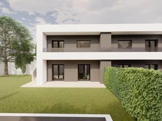 VIVIENDAS DE DISEÑO EN TOLEDO Casas de estilo moderno de Agoin Moderno