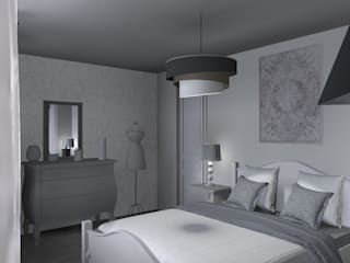 Scandinavian style bedroom by relion conception Scandinavian