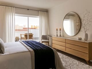 Modern style bedroom by Staging Factory Modern