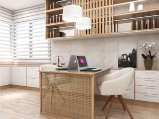 Classic style study/office by Giovana Lumertz Classic