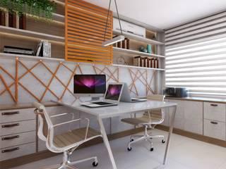 Modern study/office by Giovana Lumertz Modern