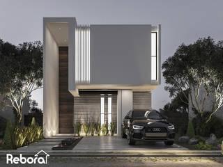 La casa de tus sueños que en Rebora te ayudamos a construir. Casas modernas de Rebora Arquitectos Moderno