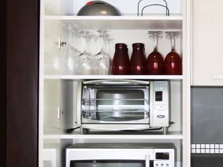Cocinas Zimerman: Funcionales y Bonitas Zimerman CocinaAlmacenamiento y despensa Blanco