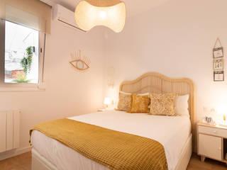 Decoración integral para uso particular Dormitorios de estilo escandinavo de Lala Decor HomeStaging & Reformas Integrales de pisos Escandinavo