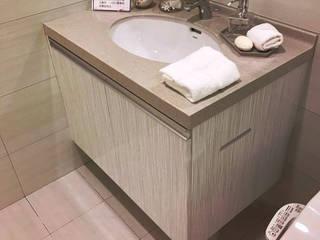 當代小廚 現代浴室設計點子、靈感&圖片 根據 微.櫥設計/We.Design Kitchen 現代風