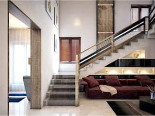 Monnaie Interiors Pvt Ltd Stairs