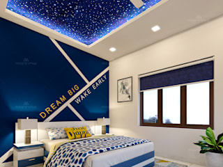 Monnaie Interiors Pvt Ltd Small bedroom