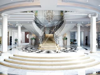 Luxury Neoclassical Palace Interior Design by Comelite Architecture, Structure and Interior Design 클래식