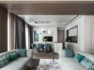 Интерьер квартиры в Рублёво Кухня в стиле минимализм от ДИА Минимализм