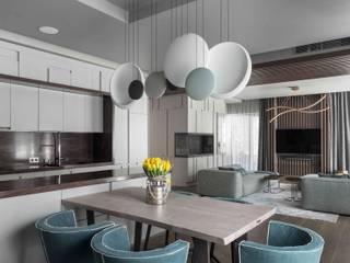 Интерьер квартиры в Рублёво Столовая комната в стиле минимализм от ДИА Минимализм