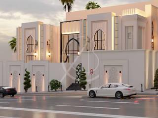 Modern Arabic Villa Architectural Design by Comelite Architecture, Structure and Interior Design Modern