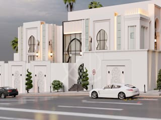 Modern Arabic Villa Architectural Design by Comelite Architecture, Structure and Interior Design Modern