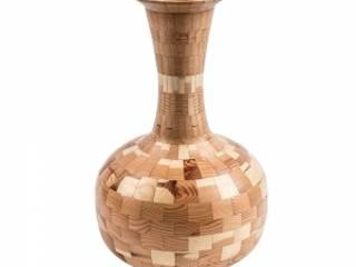 Vaso em madeira por David Maçaira Mediterrânico