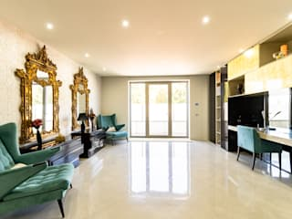 Fotografia Imobiliária | Apartamento de Luxo Salas de estar modernas por Fotostudio Pro Moderno