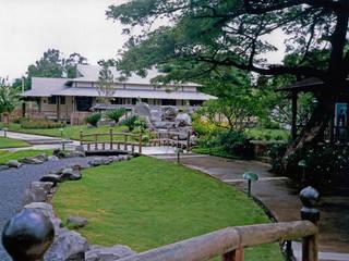 PARQUE JAPÓN EN MANAGUA, NICARAGUA Muray Paisajistas, S.C Jardines de piedra