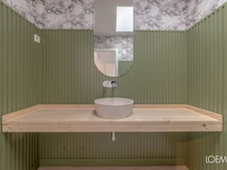Loema Reformas Integrales Madrid Modern bathroom Green