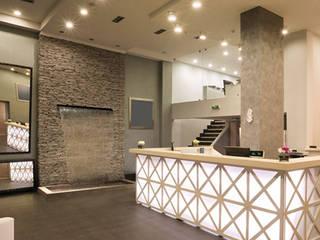 Экранный водопад для интерьеров Гостиная в стиле модерн от Нерис СпаАрт Модерн
