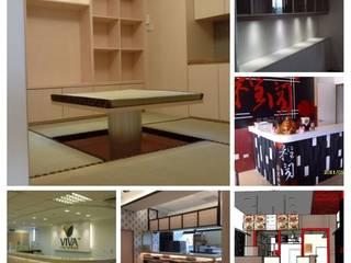櫃 設計櫃 櫃台 吧台櫃 收銀櫃 接待櫃 儲藏櫃 展示櫃: 現代  by 臻坊室內裝修設計, 現代風
