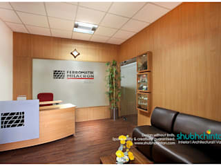 Hotel, Restaurant, office, Nursery Project Modern study/office by Shubhchintan Design possibilities Modern