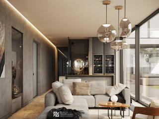 Спа-зона в загородном доме Спа в стиле минимализм от Duplex Apartment Минимализм