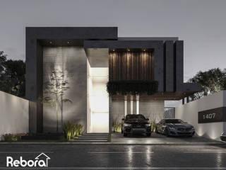 En Rebora te ayudamos a definir el diseño de la casa moderna que imaginas. Casas modernas de Rebora Arquitectos Moderno