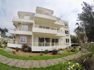 Edificio Vista Pacífico - Algarrobo Constructora e Inmobiliaria Santo Domingo SPA Casas estilo moderno: ideas, arquitectura e imágenes