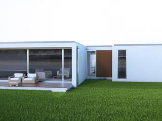 casa coplusa por Planlab - Engenharia e Arquitectura Moderno