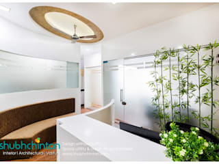 Office Interior work Modern offices & stores by Shubhchintan Design possibilities Modern