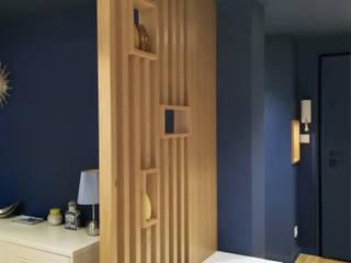 Lionel CERTIER - Architecture d'intérieur 現代風玄關、走廊與階梯