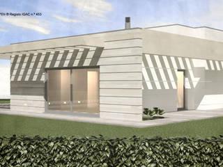 ATELIER OPEN ® - Arquitetura e Engenharia Kleines Haus Holzspanplatte Holznachbildung