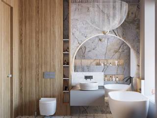 ЖК Futurist Ванная комната в стиле модерн от Анна Мищенко Модерн