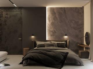 ЖК Futurist Спальня в стиле модерн от Анна Мищенко Модерн