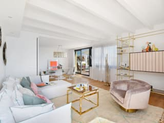 Rocamarina Salones de estilo moderno de Bconnected Architecture & Interior Design Moderno