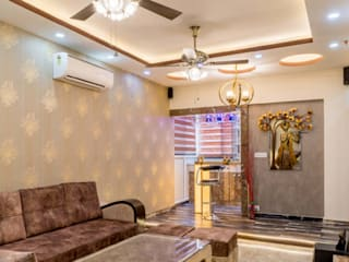 Verma's Residence, Charms Castle A2103, Raj Nagar Extension, Ghaziabad by Studiops homes