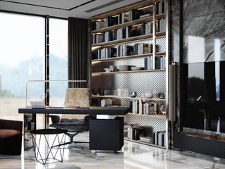 Akbatı Residence Modern Çalışma Odası Entrada Mimarlık Modern