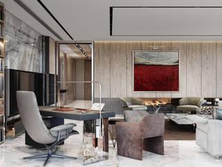 Akbatı Residence Modern Oturma Odası Entrada Mimarlık Modern
