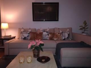 Valhallavagen, Sweden Modern living room by Anna Hansson Design Modern