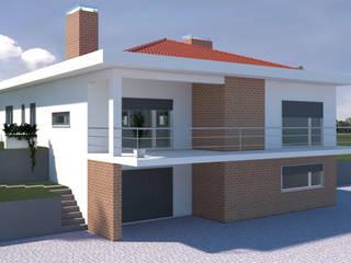 Moradia Rosa por Planlab - Engenharia e Arquitectura