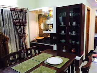 3bhk interior at Alwarpet Modern dining room by TD Studio Modern