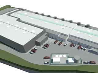 Unidade Fabril por Planlab - Engenharia e Arquitectura