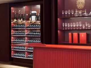 Okhuysen Wine store by studio Dave Keune Minimalist