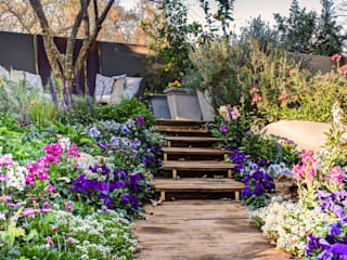 Rustic style gardens by Young Landscape Design Studio Rustic