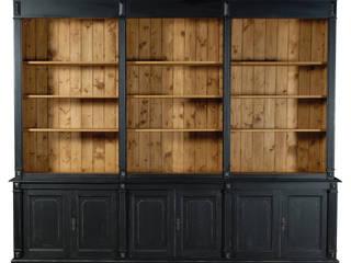 Cerchi spazio per i tuoi libri e oggetti? Soggiorno in stile coloniale di Mobili a Colori Coloniale